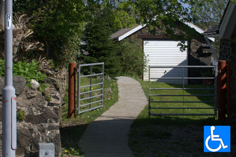 Level access to the Church